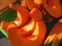 Soupe courge pomme carotte