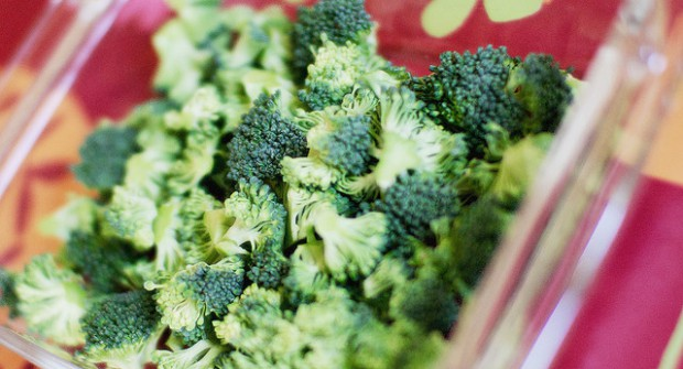 Purée de brocolis et cabillaud